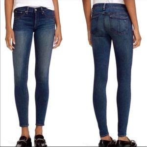 Rag & Bone Skinny Ankle Jeans Joshua Dark Denim